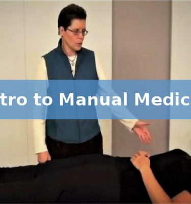 Intro to Manual Medicine